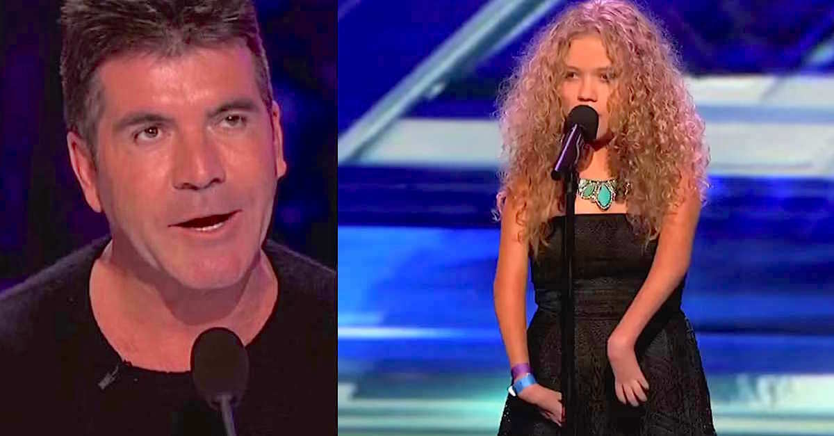 Simon Cowell noticed she looks different, but he was shocked when she unveiled her voice!
