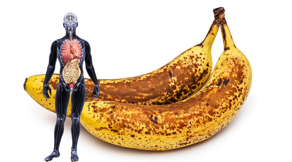 If you eat 2 bananas each day for a month, that's whats going to happend to your body