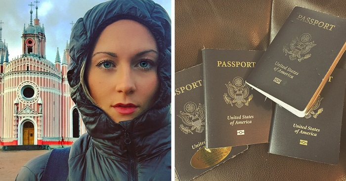 27 Year-old girl is about to become the first woman who travelled to every country in the world
