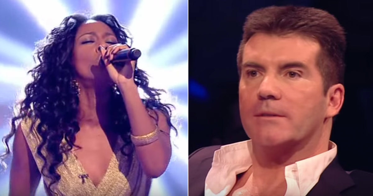 Her crazy performance of Leonard Cohen's classic left Simon Cowell speechless!