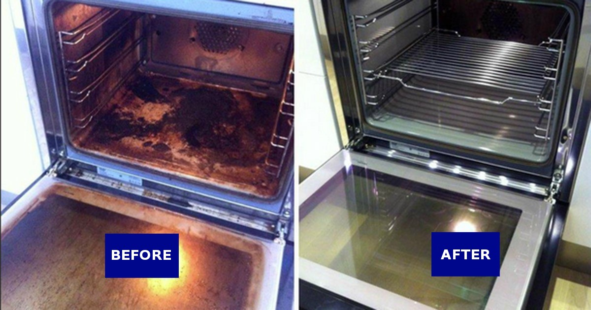 You have cleaned the oven incorrectly your whole life. This is genius!