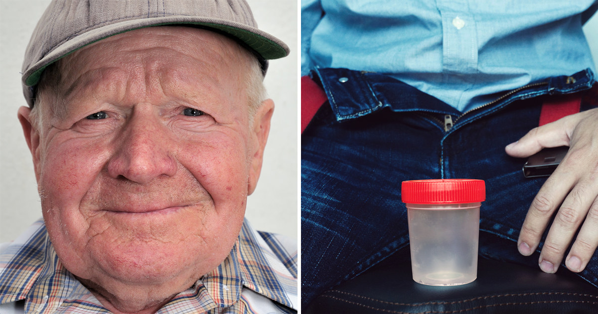 A 91-year-old gave a sperm sample to the worried doctor - three days later he received the shocking news