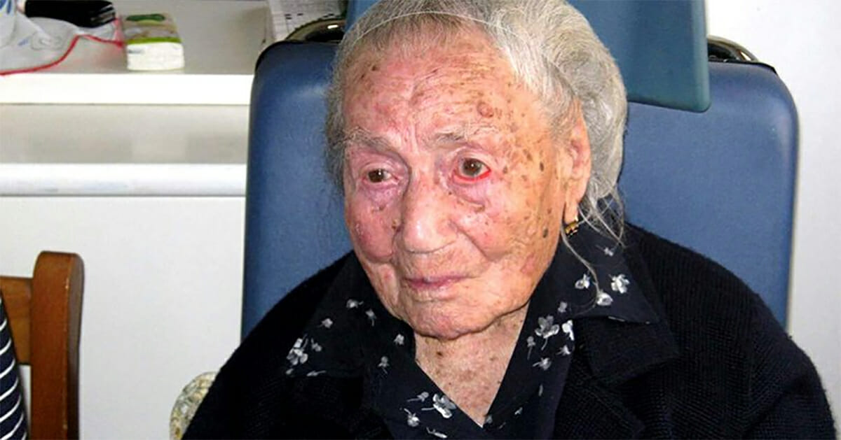 A 116-year-old Italian woman has uncovered the only food she claims that gives a long and healthy life