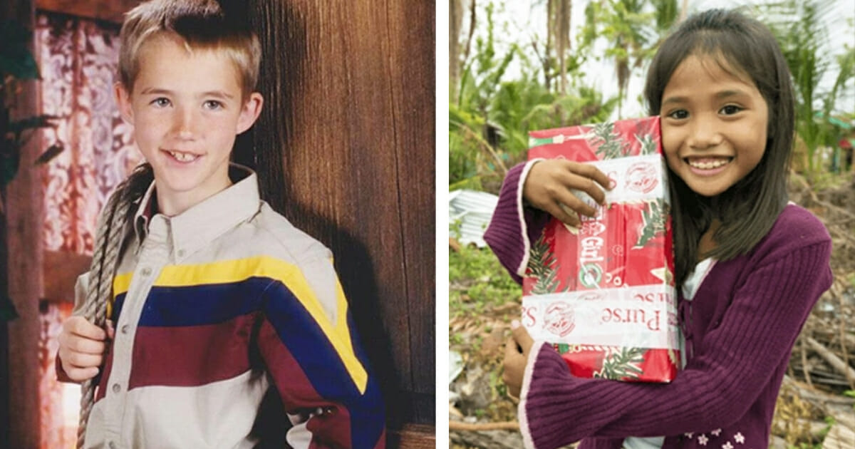 A girl from the Philippines received charity gift from an American child - 11 years later, a Facebook message changed everything