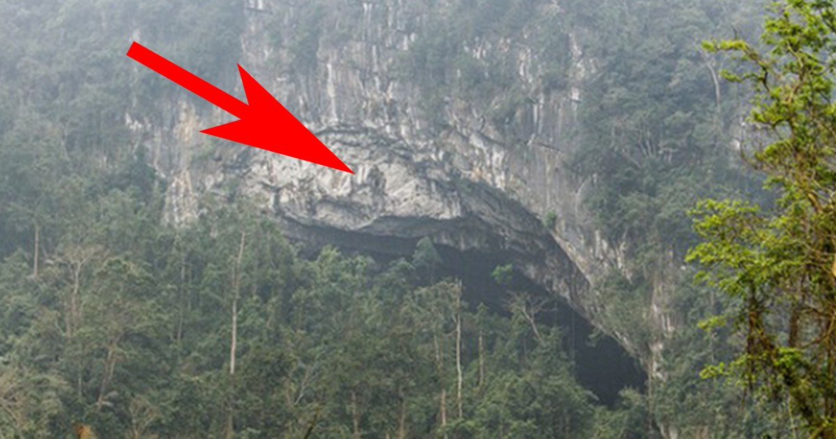 A farmer saw a hole in a mountain. But what was inside stunned the whole world