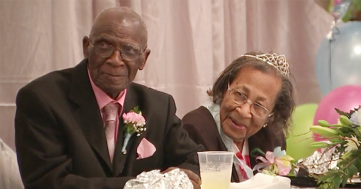 He is 103, she is 100, and they have been married for 82 years - their secret to long and happy marriage will certainly surprise you