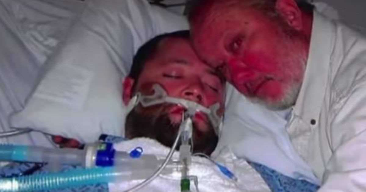 Doctors wanted to cut his son's life support. So he grabbed a gun, locked the room, and then the unbelievable happend