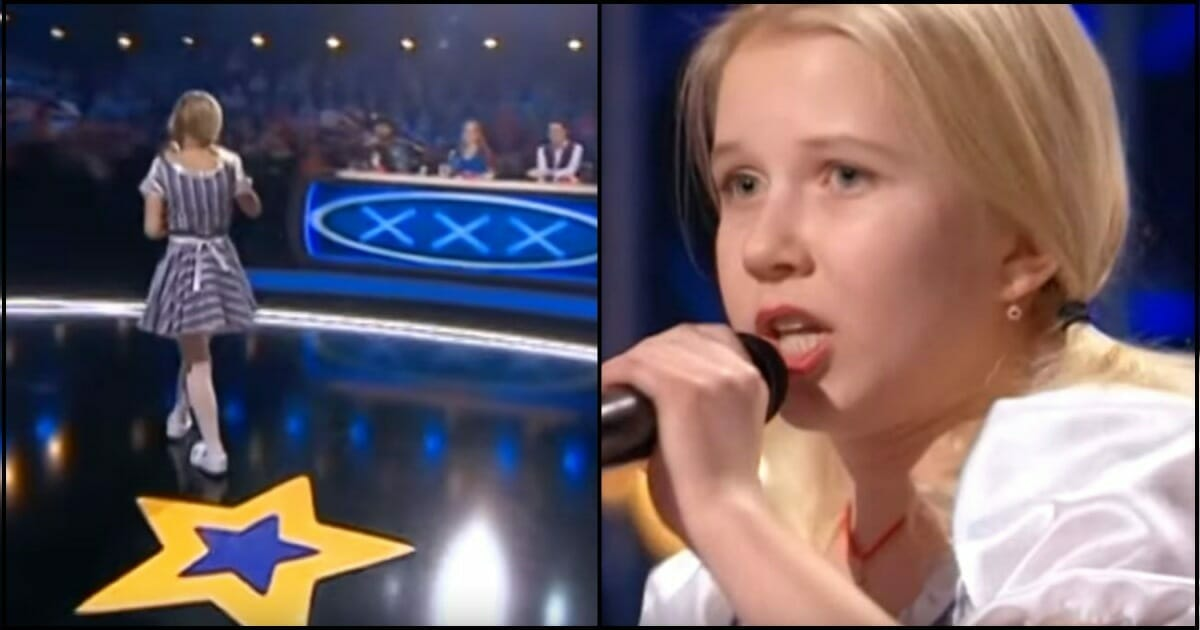 A little blonde girl stood frozen on the stage - seconds later an unexpected twist left the judges in shock