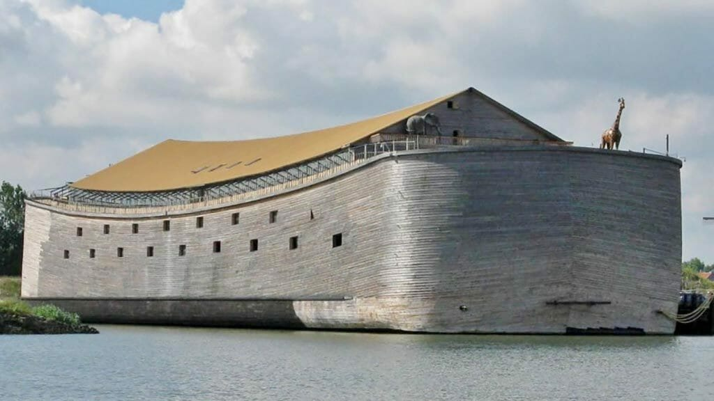 A carpenter spent two decades building 'Noah's Ark'. One look inside and you will not believe it is real