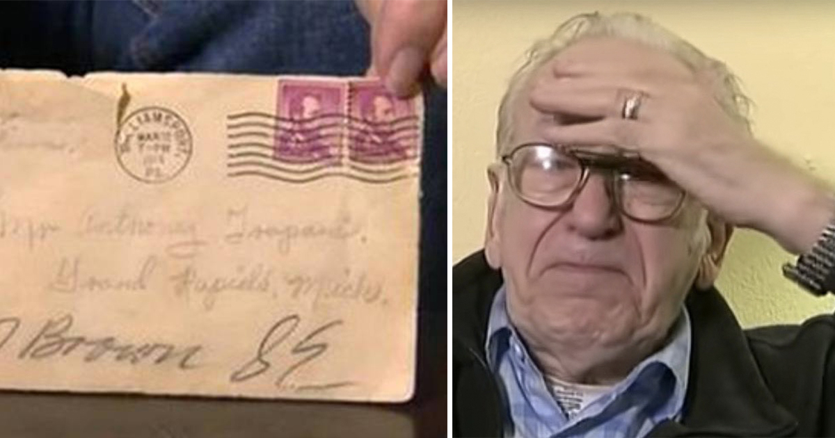 His wife died and when he emptied her closets - he found a letter revealing a secret that changed his life forever